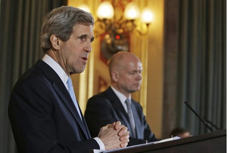US Secy of State John Kerry, UK Foreign Secy
