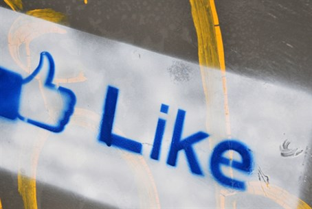 "Facebook ""like"" (illustration)"
