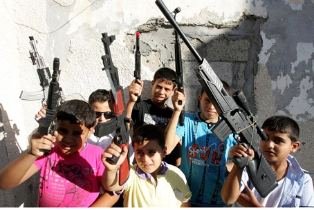 Culture of violence? Palestinian Arab childre