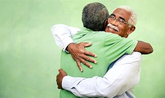 Half-brothers meet for first time in 51 years