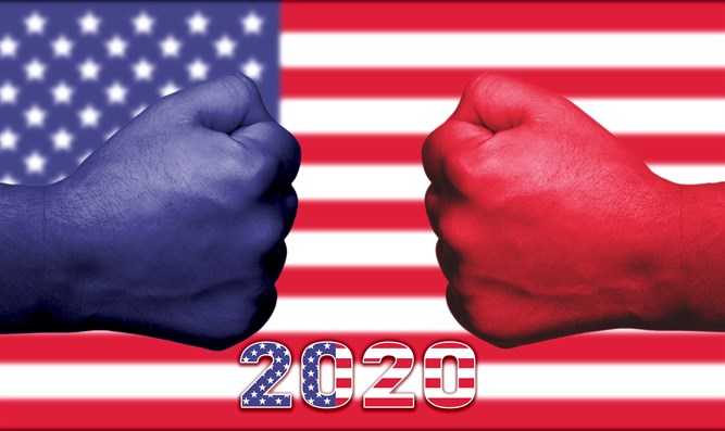Blue vs. Red in the USA Elections